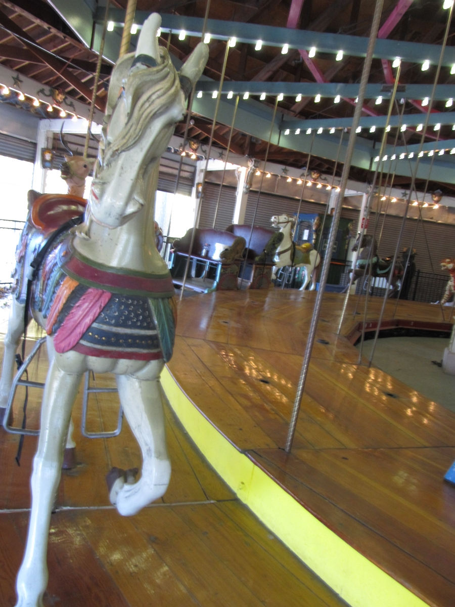 The Forest Park Carousel Repairs - Taking It Apart